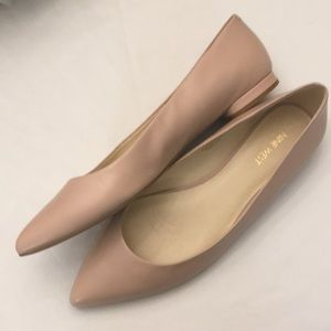 Nine West light pink flats - new, never worn 11
